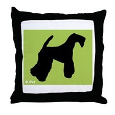 Terrier iPet Throw Pillow