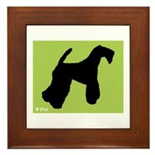 Terrier iPet Framed Tile