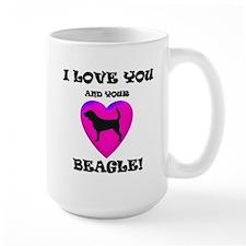 Valentine's Beagle Mug