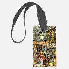 Home On The Range Cowboy InThe D Luggage Tag
