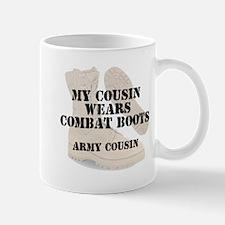 Army Cousin wears DCB Mugs