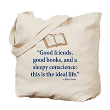 Good Friends, Good Books - Tote Bag