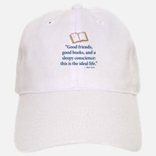 Good Friends, Good Books - Baseball Baseball Cap