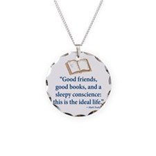 Good Friends, Good Books - Necklace