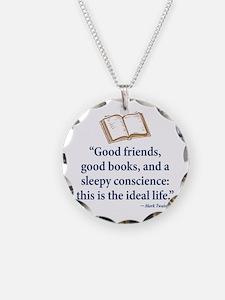 Good Friends, Good Books - Necklace