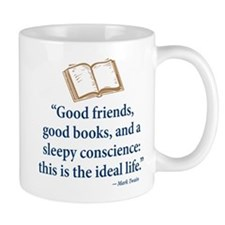 Good Friends, Good Books - Mug