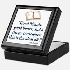 Good Friends, Good Books - Keepsake Box
