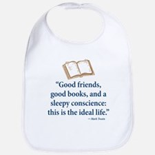 Good Friends, Good Books - Bib