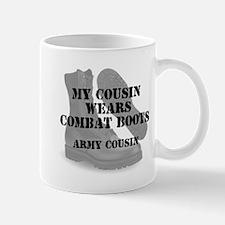 Army Cousin wears CB Mugs