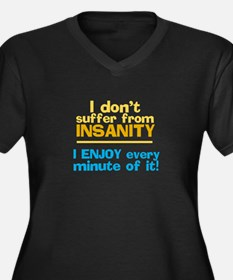 I dont Suffer Plus Size T-Shirt