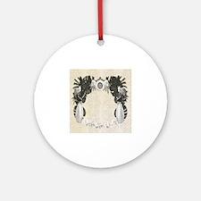 Medina Casbah Sultan Motif Round Ornament