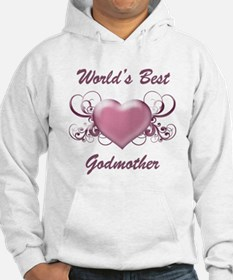 World's Best Godmother (Heart) Hoodie