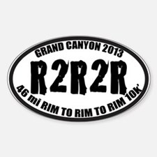 R2R2R Sticker (Oval)