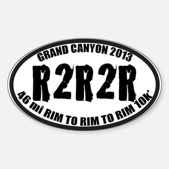 R2R2R Sticker (Oval)