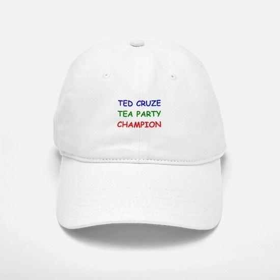 Ted Cruze Tea Party Champion Baseball Baseball Baseball Cap