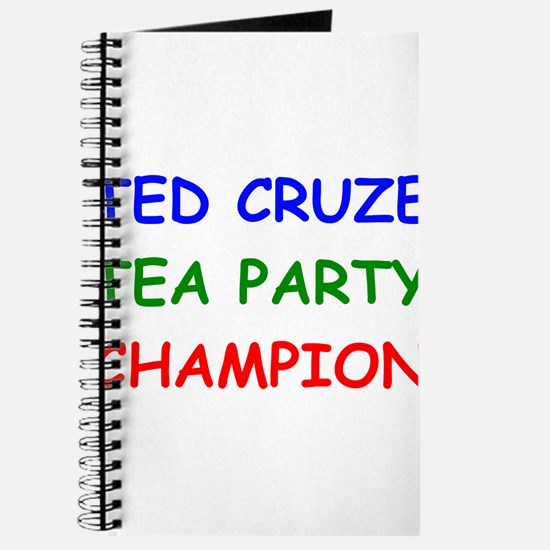 Ted Cruze Tea Party Champion Journal