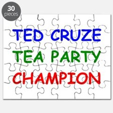 Ted Cruze Tea Party Champion Puzzle