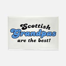Scottish Grandpas are the Best Rectangle Magnet