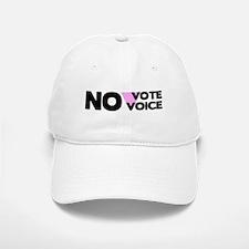 No Vote No Voice (Triangle) Baseball Baseball Cap