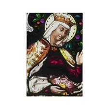 Saint Elizabeth Rectangle Magnet