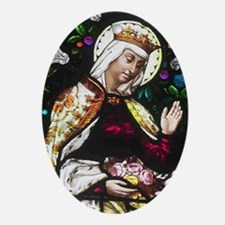 Saint Elizabeth Oval Ornament