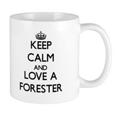 Keep Calm and Love a Forester Mugs