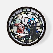 Saint Catherine of Sienna Wall Clock