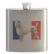 French Poodle Flask