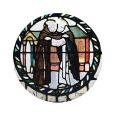 St Francis and St Dominic Round Ornament