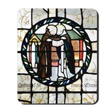 St Francis and St Dominic Mousepad