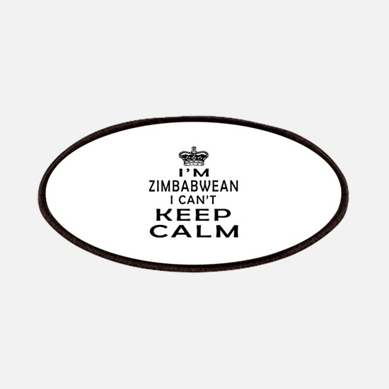 I Am Zimbabwean I Can Not Keep Calm Patches