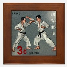 Vintage 1965 Ryukyu Islands Kumite Postage Stamp F