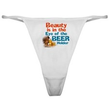 Eye of the Beer Holder Classic Thong