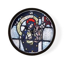 Saint Agnes Wall Clock