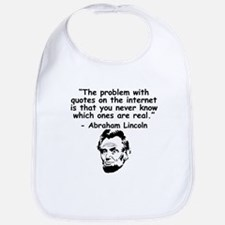 Abraham Lincoln Internet Quote Bib