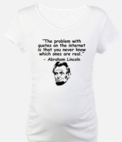 Abraham Lincoln Internet Quote Shirt