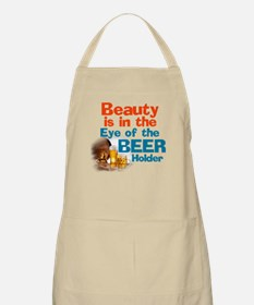 Eye of the Beer Holder Apron
