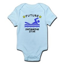 Future Swimming Star Body Suit