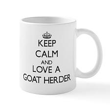 Keep Calm and Love a Goat Herder Mugs