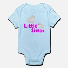 Little Sister Hippo Body Suit