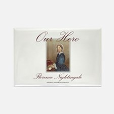 Our Hero Florence Nightingale Rectangle Magnet