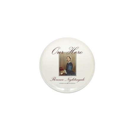 Our Hero Florence Nightingale Mini Button (10 pack