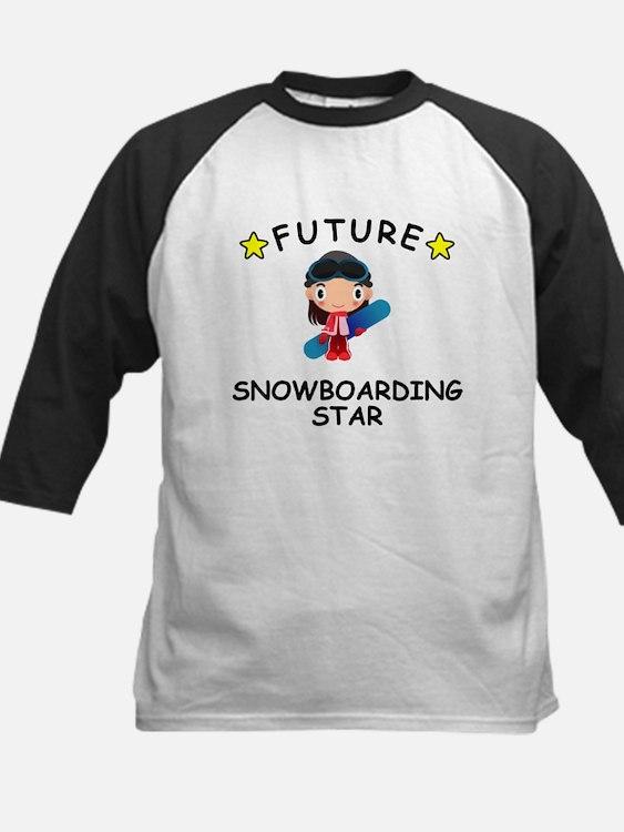 Future Snowboarding Star Baseball Jersey