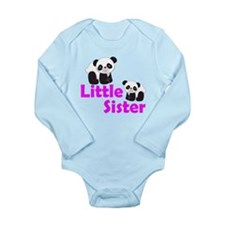 Little Sister Panda Body Suit