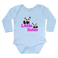 Little Sister Panda Body Suit