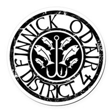 Finnick District 4 Round Car Magnet
