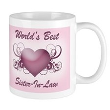 World's Best Sister-In-Law (Heart) Mug