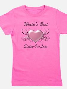 World's Best Sister-In-Law (Heart) Girl's Tee