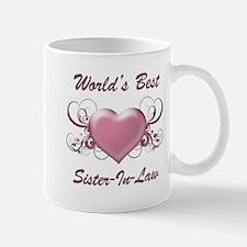 World's Best Sister-In-Law (Heart) Mug