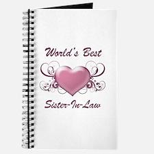 World's Best Sister-In-Law (Heart) Journal
